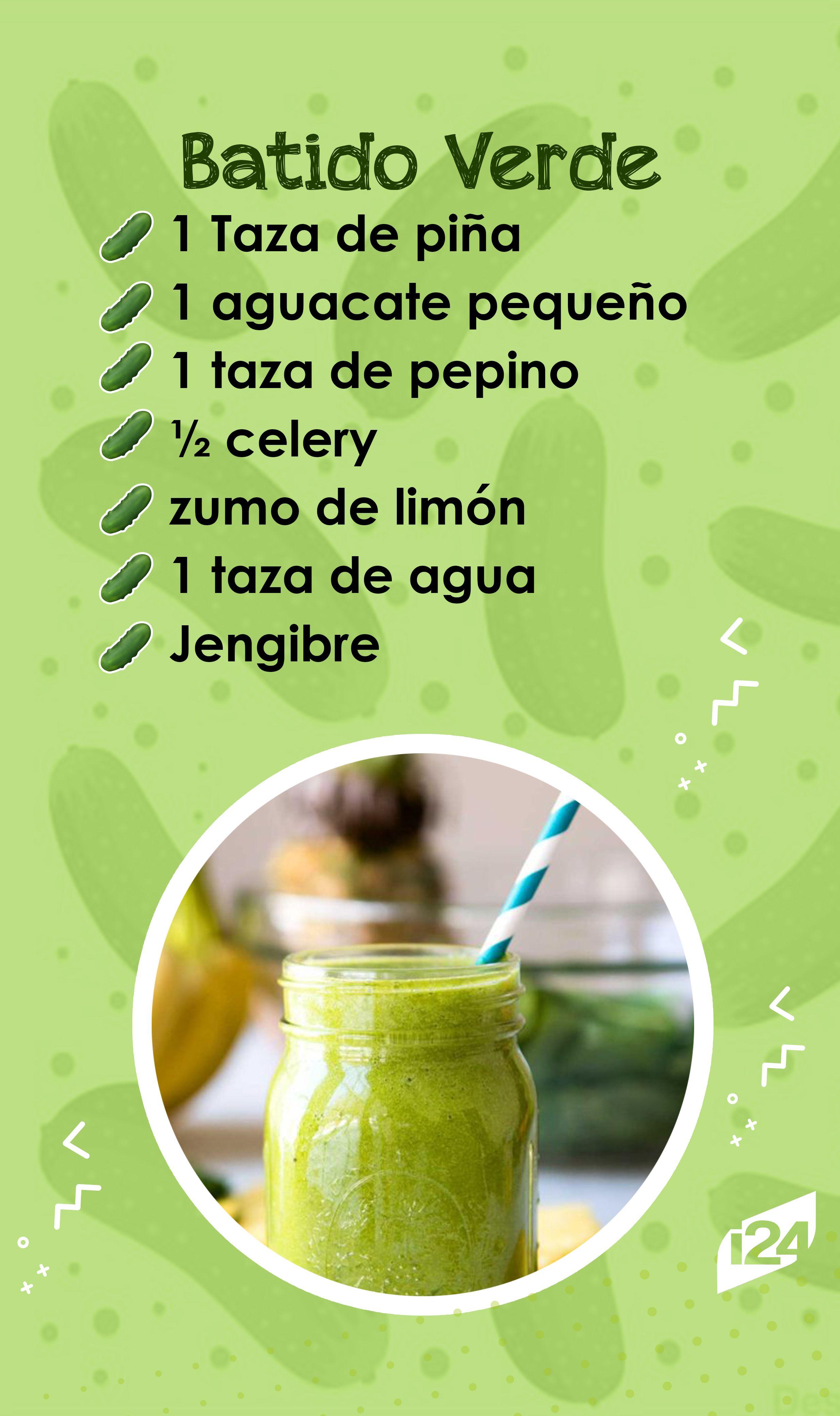 Receta de verduras verdes para adelgazar