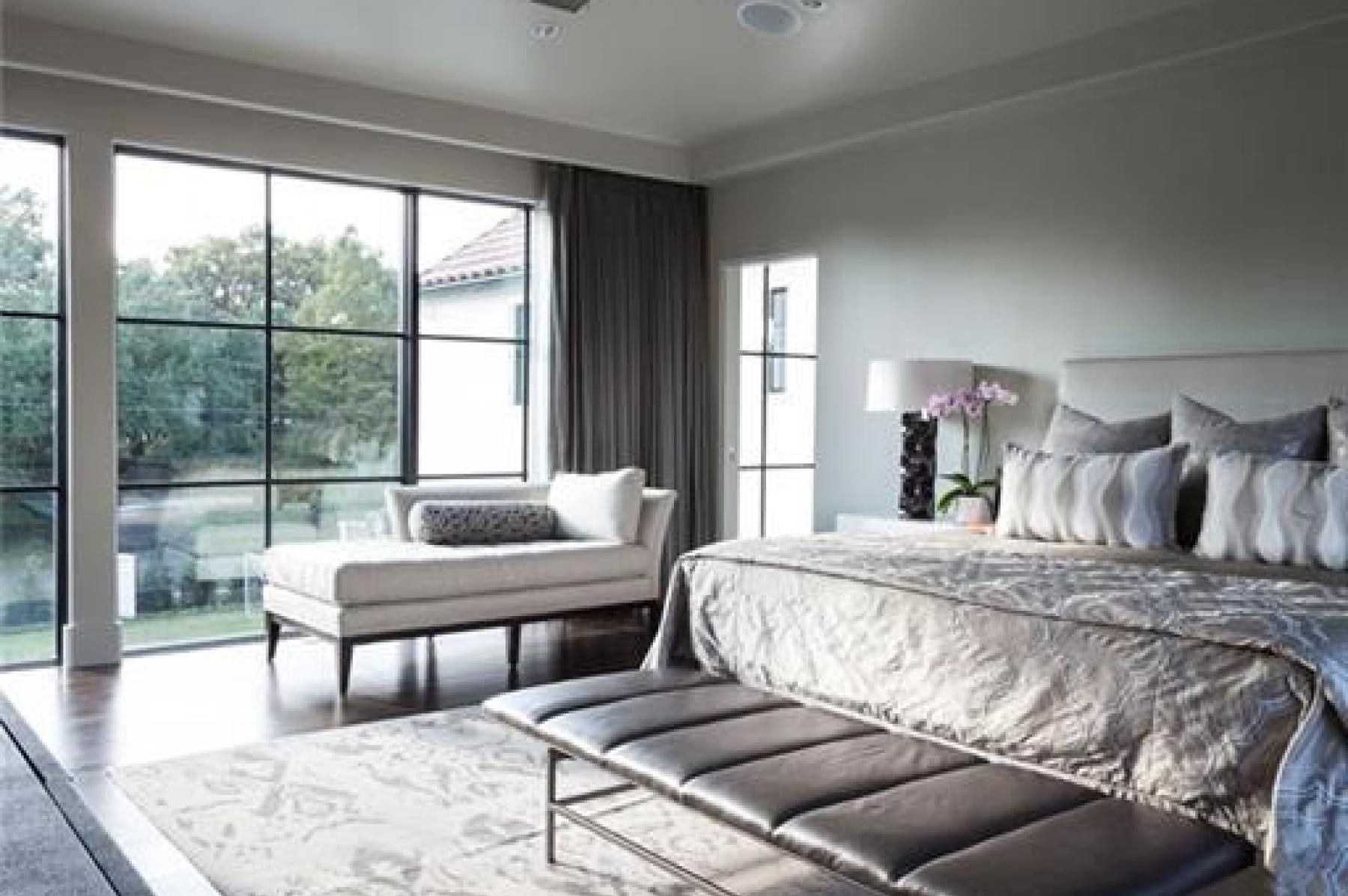 Master bedroom vs owners suite  Traditional Santa Barbara Spanish Colonial Revival done in a more