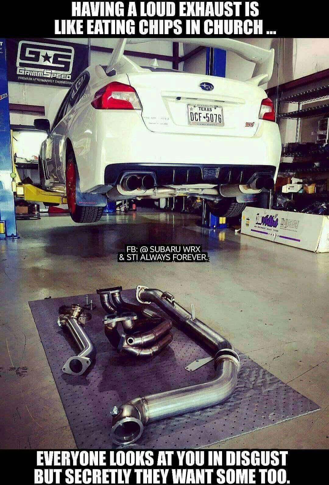 0bea36c6ca Loud Exhaust ... | Man Caves, Garages & Shops | Subaru wrx, Jdm cars ...