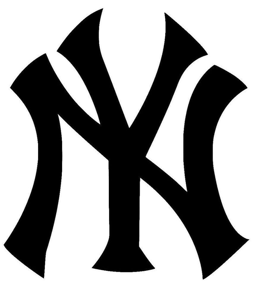 New York Yankees Logo Vinyl Car Truck Decal Window Sticker Buy 1 Get 1 Free New York Yankees Logo Yankees Logo New York Yankees