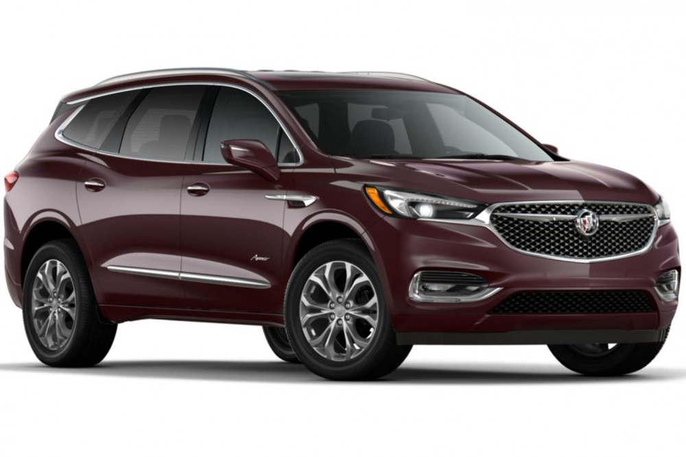7 Buick Enclave Gets New Rich Garnet Metallic Color Gm Authority Buick Enclave Buick Envision Buick