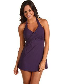 bb6fd68a0e Calvin Klein Solids Crossover Swim Dress | Mom clothing | Pinterest ...