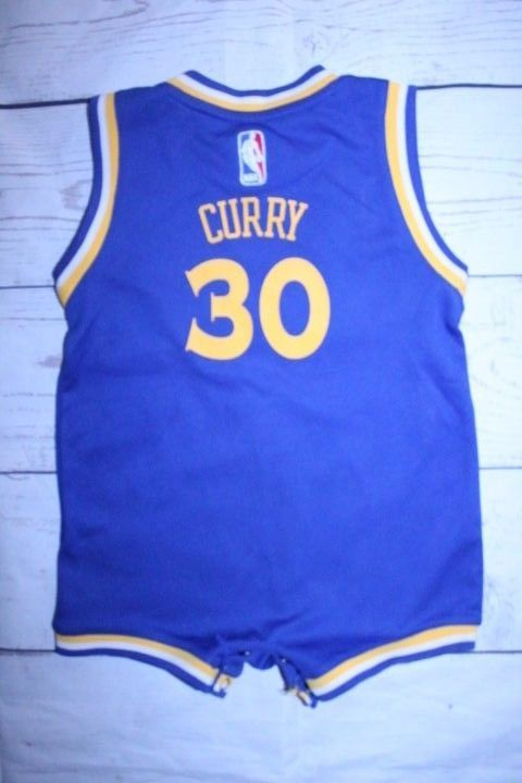 big sale fbae8 b84af Adidas Golden State Creeper 24 MO Blue Stephen Curry NBA ...