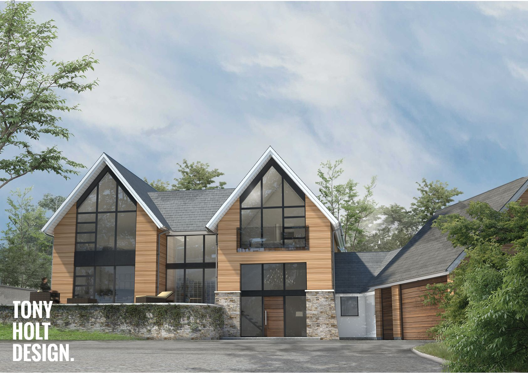 Tony Holt Design : Self build design for new build house in Dartford ...