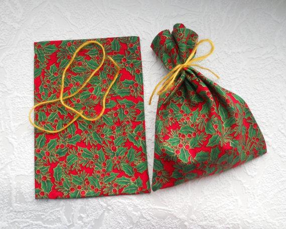 Christmas Favor Bag Reusable Christmas Gift Bags Party Favor ...