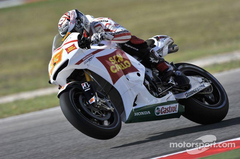 Marco Melandri, San Carlo Honda Gresini in 2020 Motogp