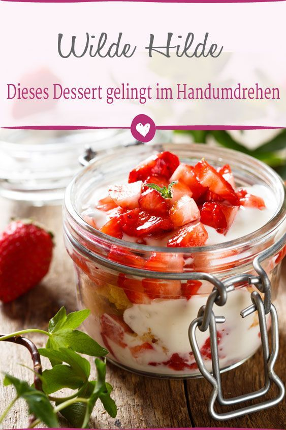 Photo of Wilde Hilde: This dessert is conjured up with few ingredients