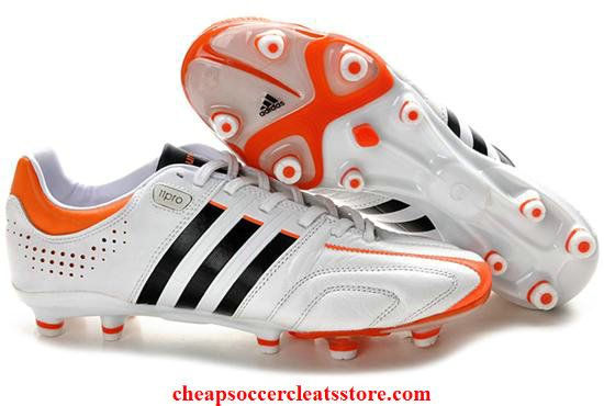 timeless design 7f5b2 b66f6 Adidas adipure 11Pro TRX FG White Black High Energy Cheap Soccer Cleats
