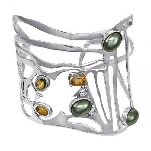 brilliant cuff by Marie-Pierre Art Jewelry