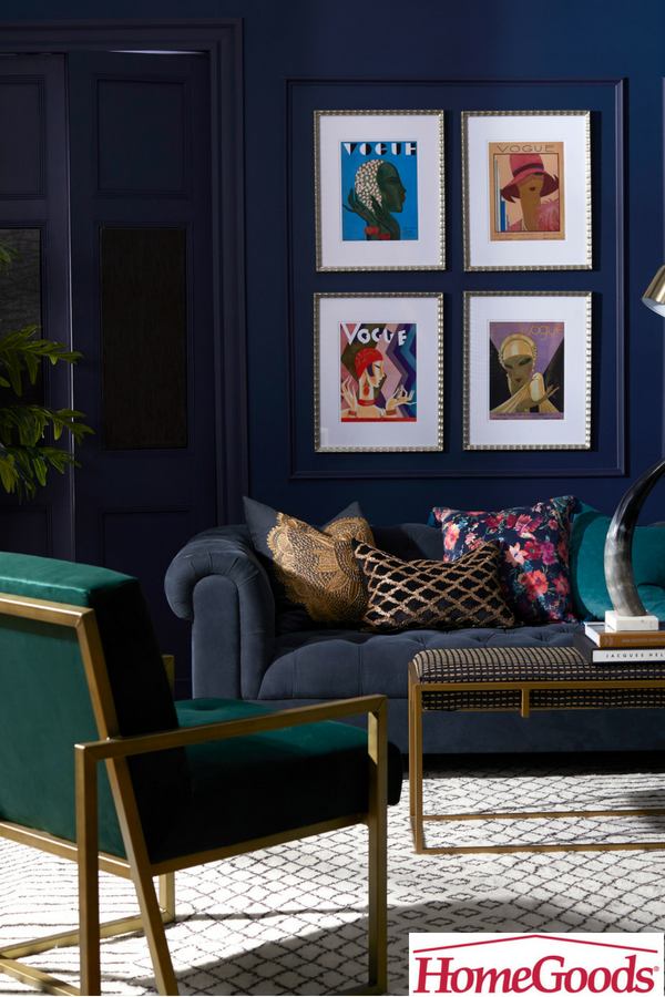 There S Good Reason Navy Has Exploded In Popularity Sophisticated And Elegant This Darker Shade Of Blue Is Ex Elegant Living Room Home Office Decor Room Decor