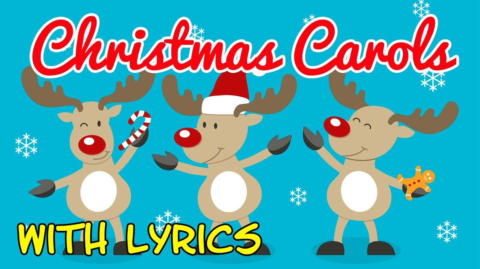 Christmas Carols for Children with Lyrics ♫ Christmas