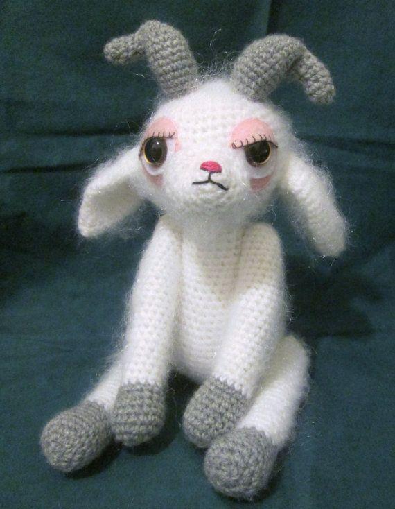 Farmyard Goats crochet pattern | PlanetJune by June Gilbank: Blog | 734x570