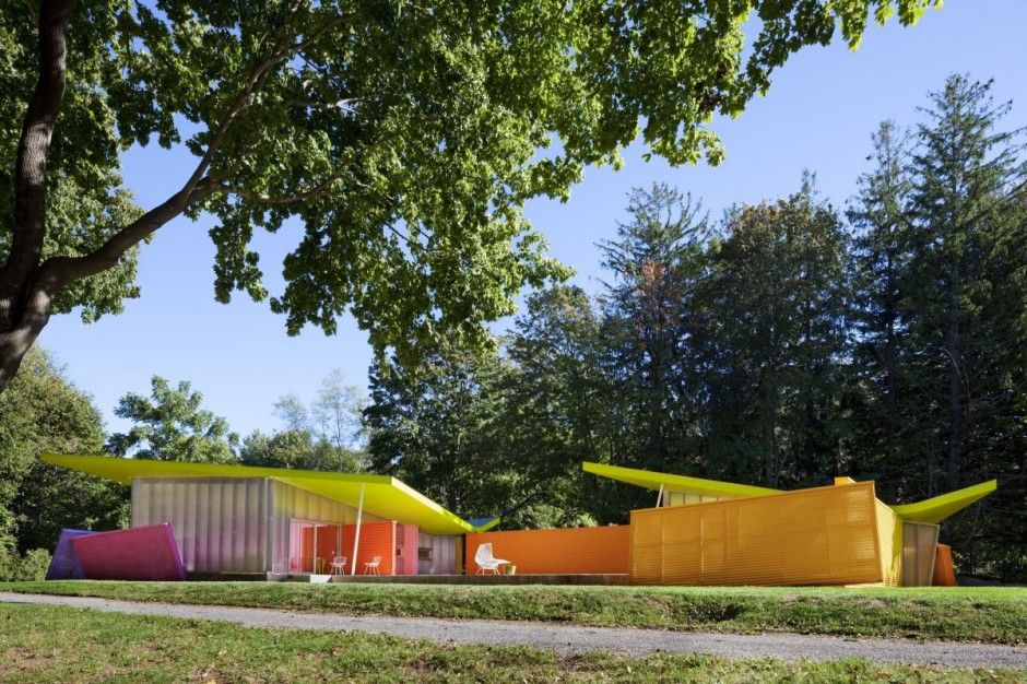 Amazing Colorful House In Ny By Stamberg Aferiat