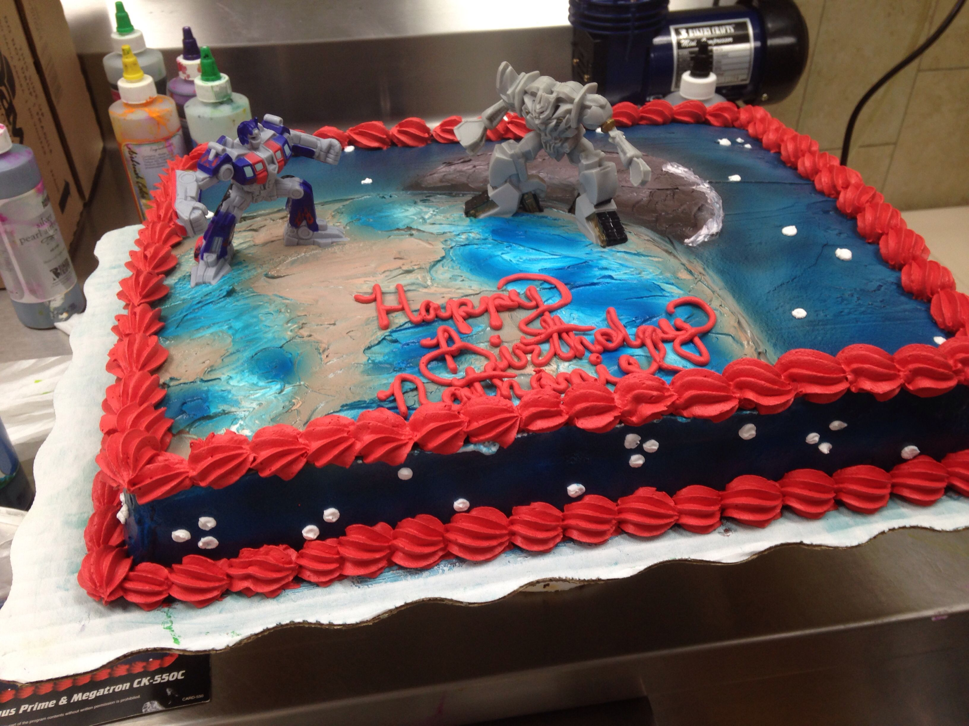 Transformers Cake Walmart Search Cakes Occupation Home Tips Will