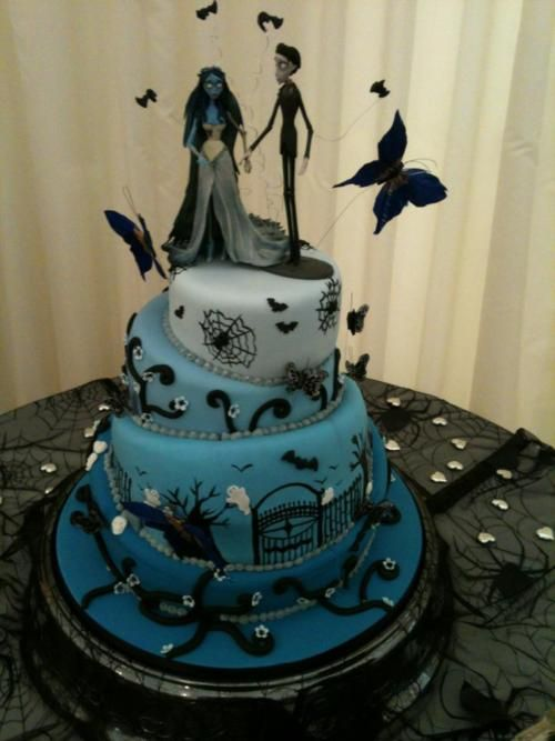 Corpse Bride Wedding Cake - corpse-bride Photo | The Wedding Planner ...