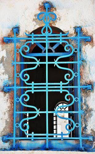 Painted Security Bars Window Bars Iron Windows Beautiful Doors