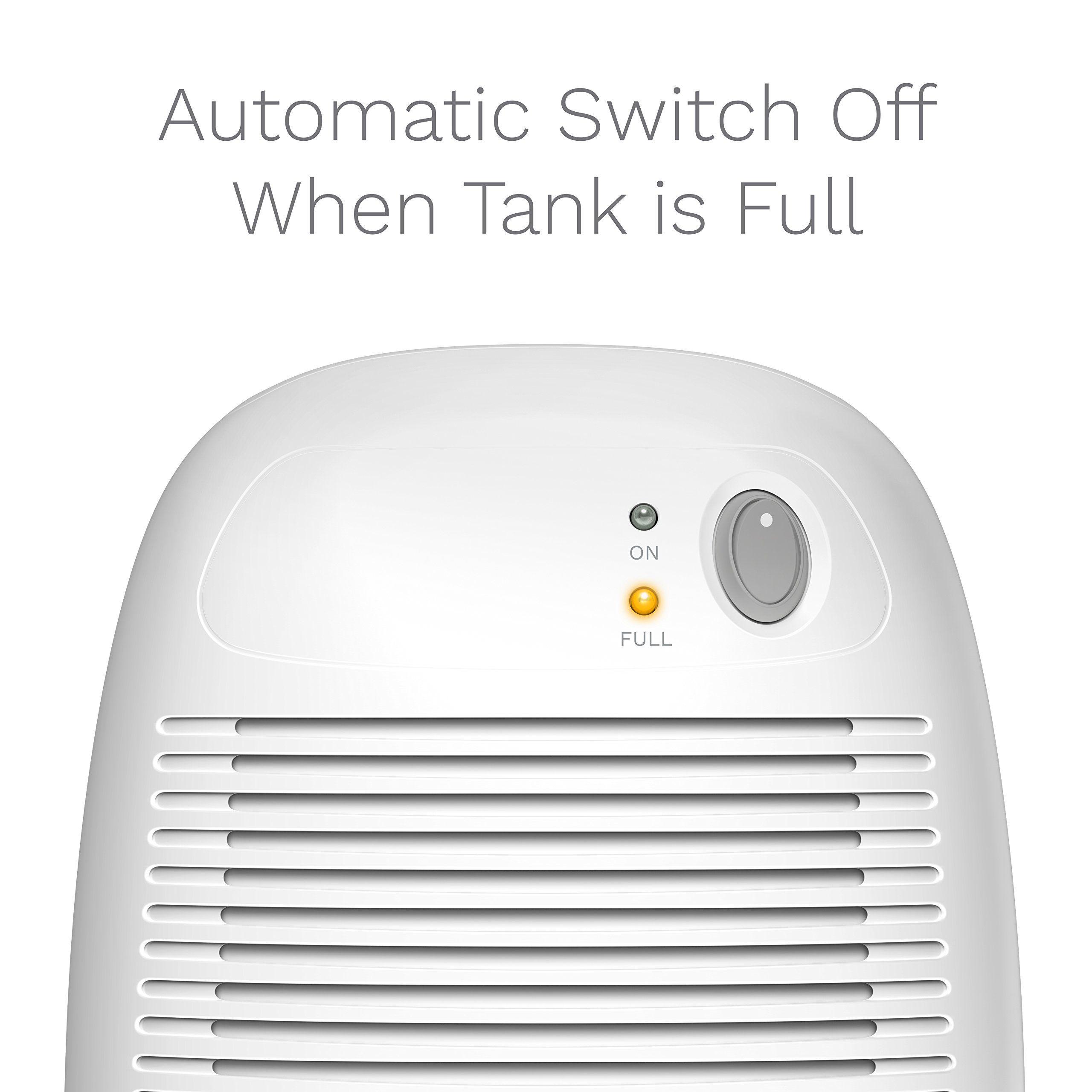 Home Small Dehumidifier For 1200 Cu Ft 150 Sq Ft Bathroom Or Closet 16 Oz Capacity Mini Quiet Safe Compact The Dehumidifiers Mold And Mildew Mini Dehumidifier