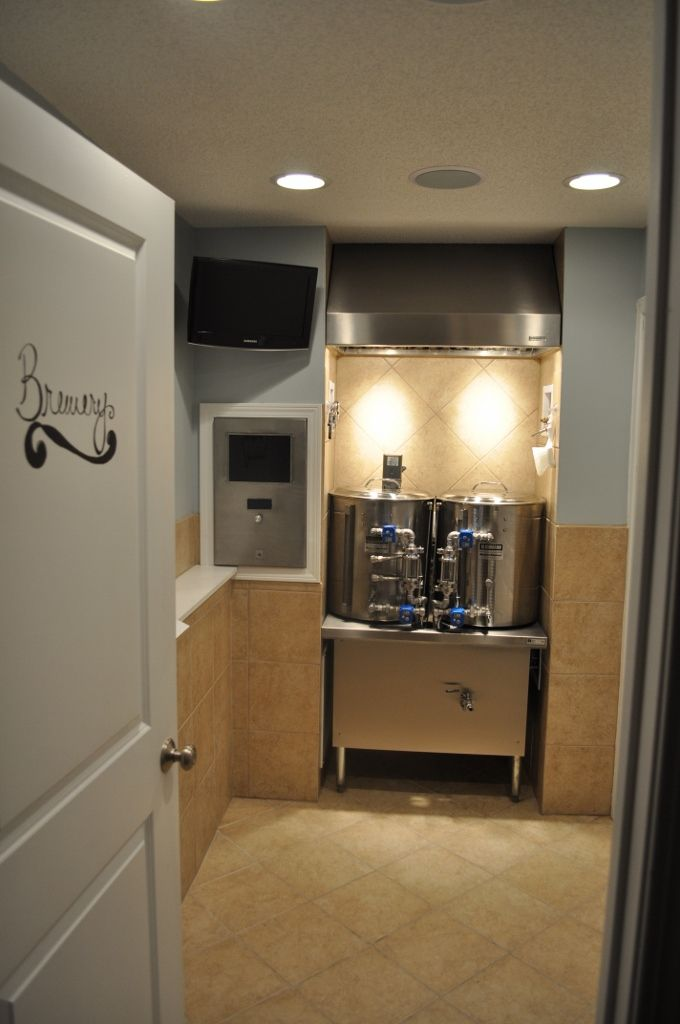 Show Me Pics Of Your Dedicated Brewing Rooms!   Home Brew Forums