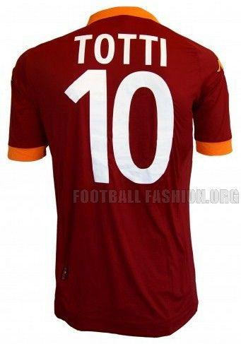 best cheap cf2ef afed9 AS Roma Kappa 2012/13 Home Kit   Jersey   Football fashion ...