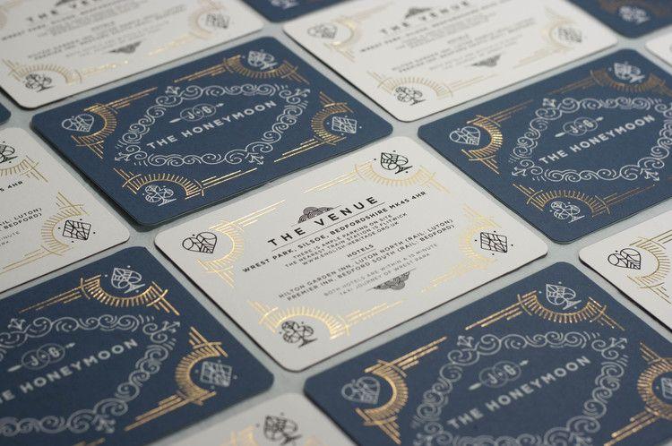 foil blocking screen printing wedding invitations foil printing