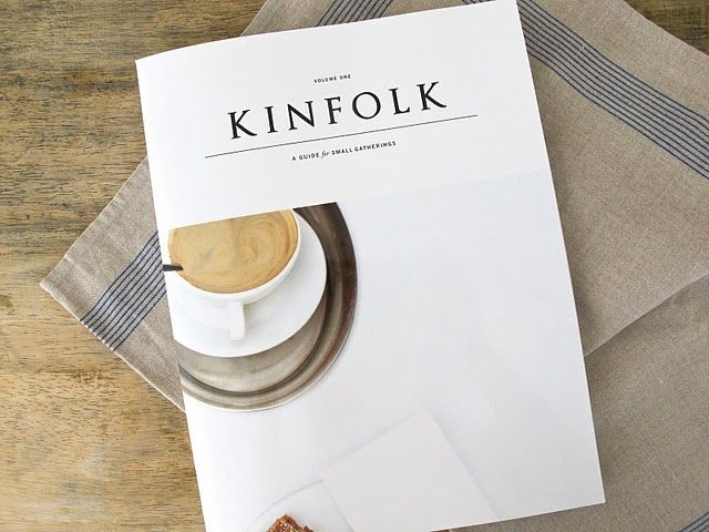Kinfolk Magazine - it is a beauty!!  I'm glad to be a part of it!