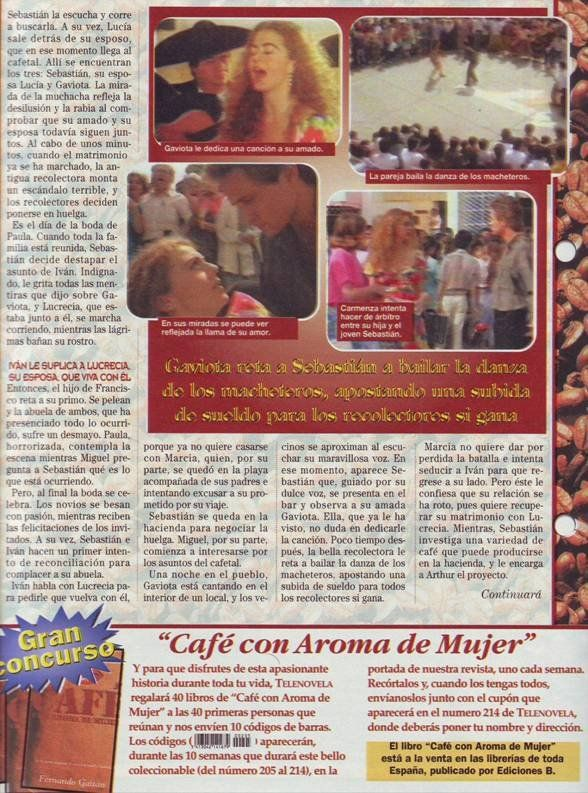 RESUMENES DE TELENOVELAS - COLECCIONABLE DE CAFE CON AROMA DE MUJER - Coleccionable de Telenovelas