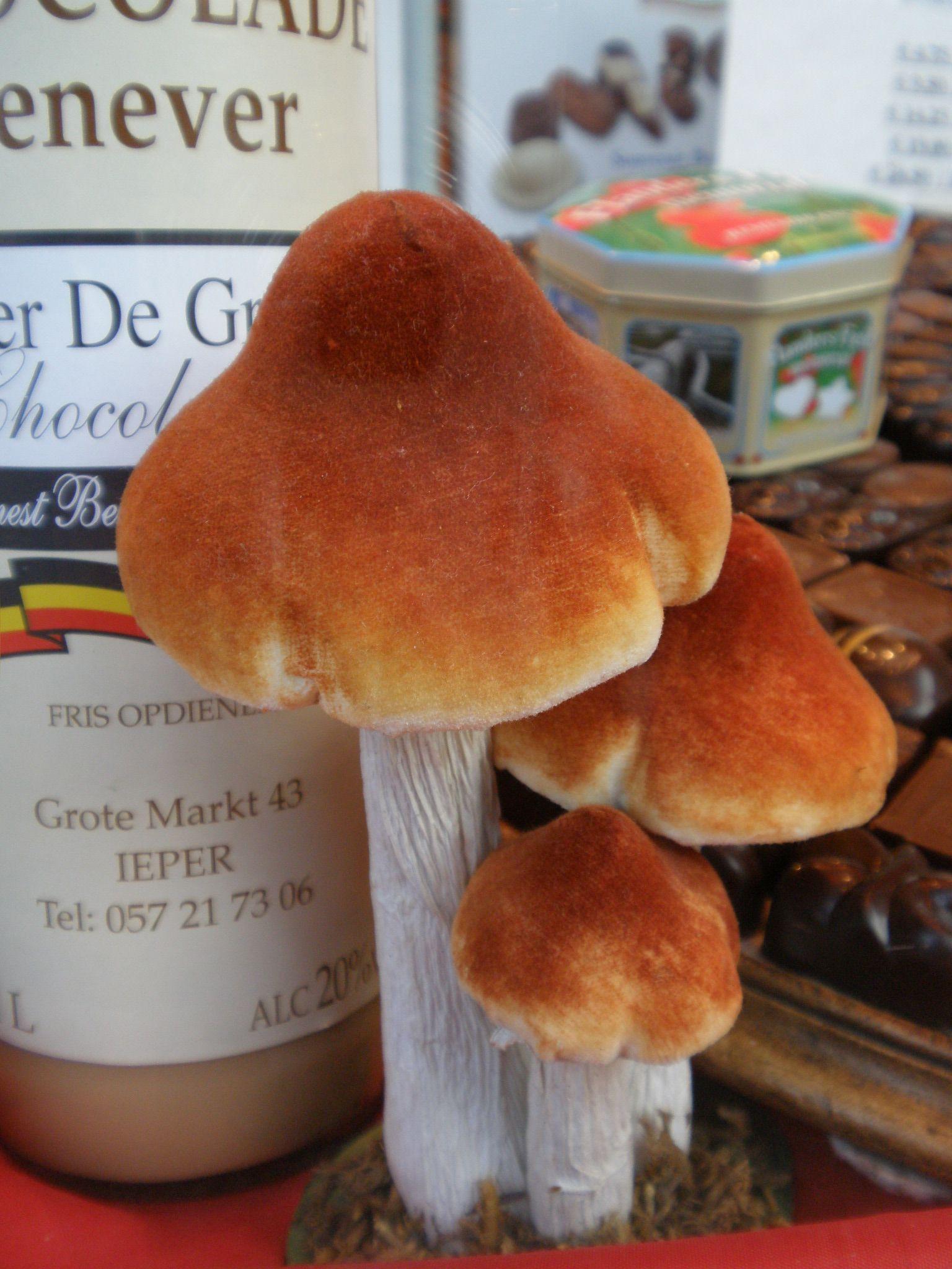 How to Make Marzipan Toadstools foto
