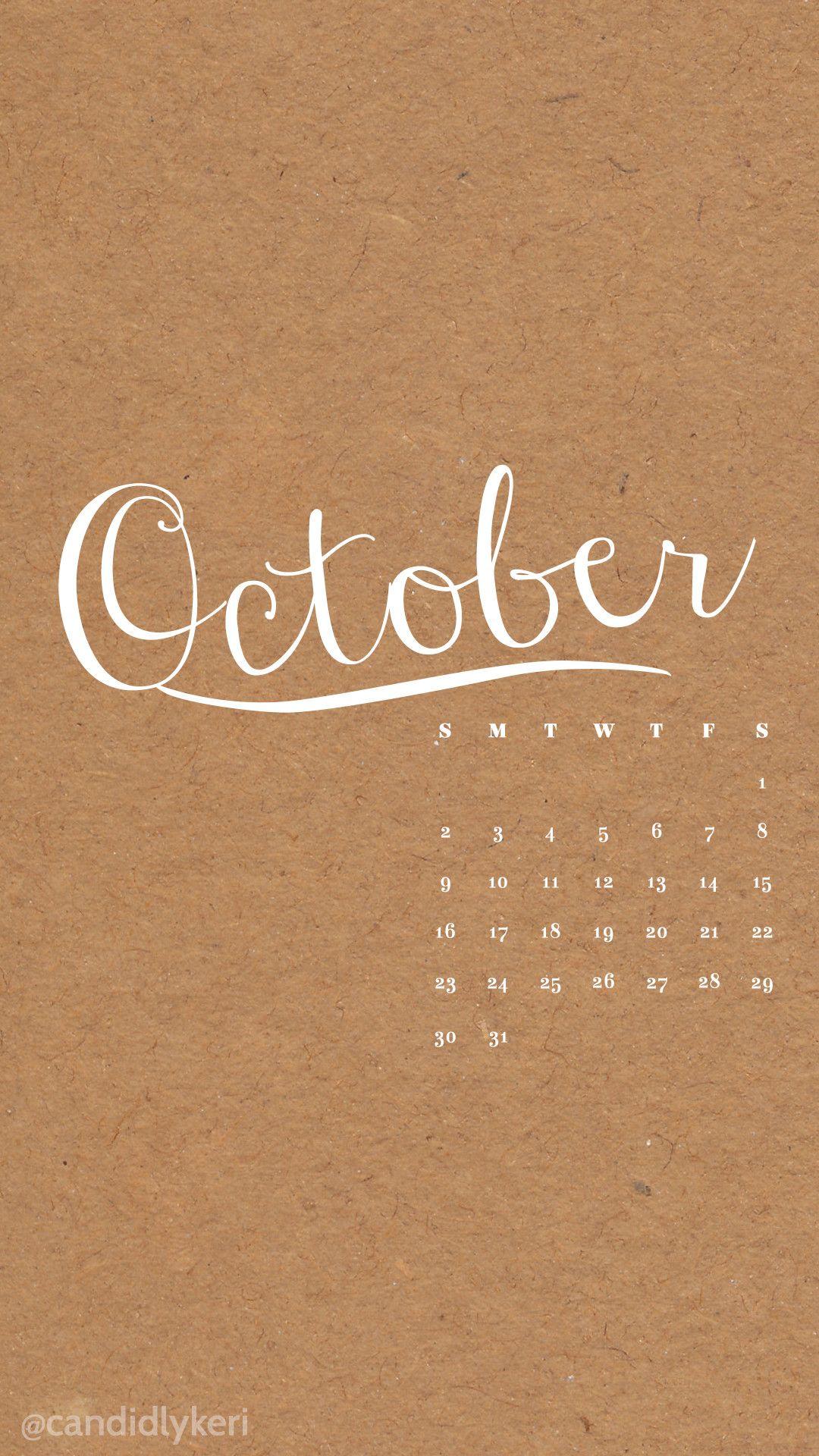 Desktop Wallpapers Calendar October 2018 57 images #octoberwallpaperiphone