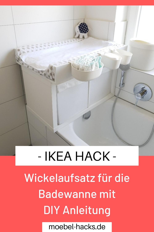 Wickelaufsatz für die Badewanne   IKEA Hack   Wickelaufsatz ...