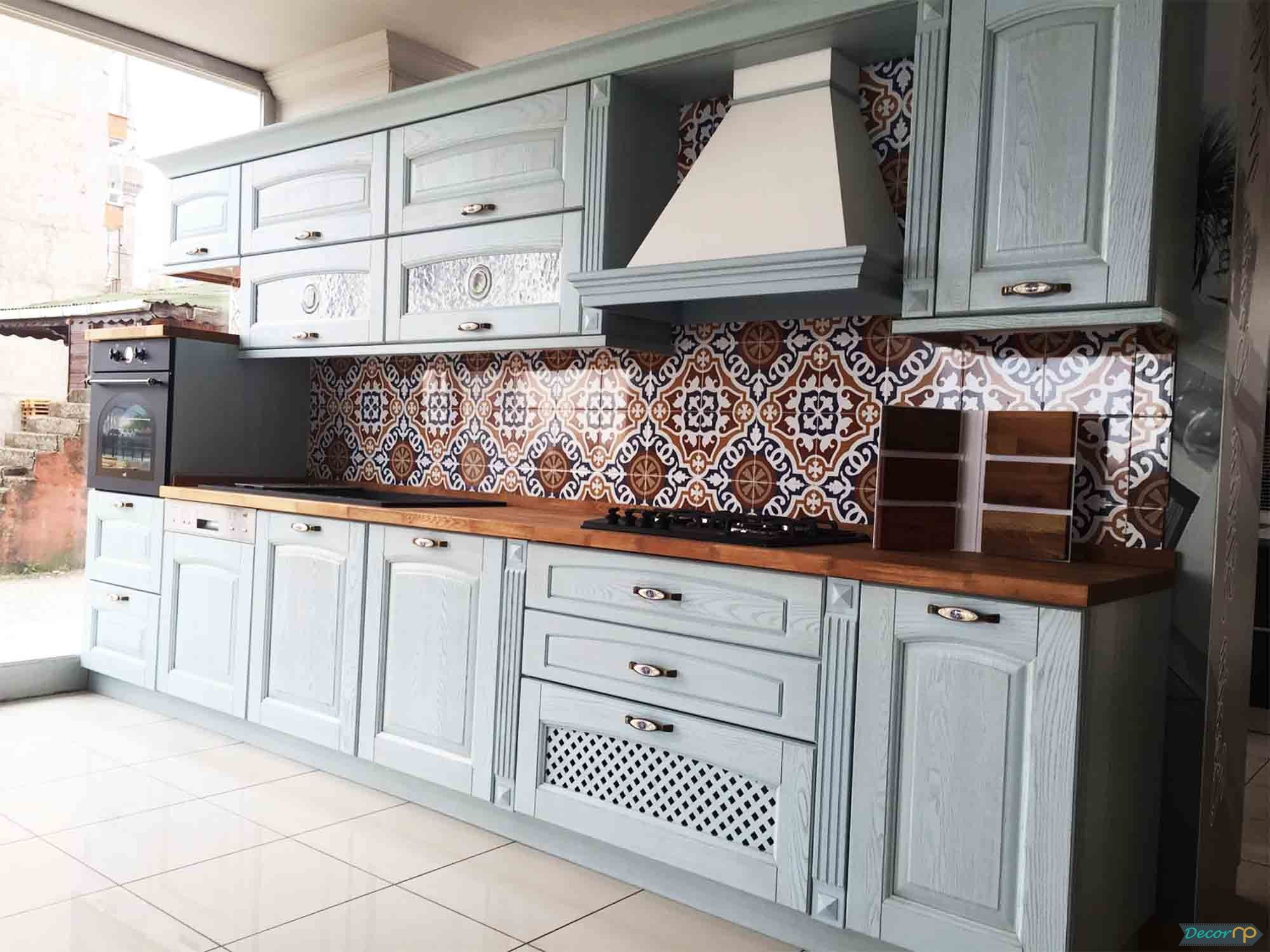 Latest Fashion Kitchen Cabinet Models In 2018 Mobilya Boyama