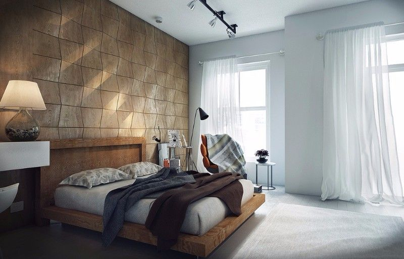 Industrial Master Bedroom Design Ideas Modern Bedroom Design