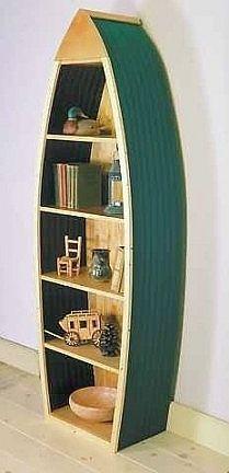 Boat Bookshelf Plans Shelving Boating Storage