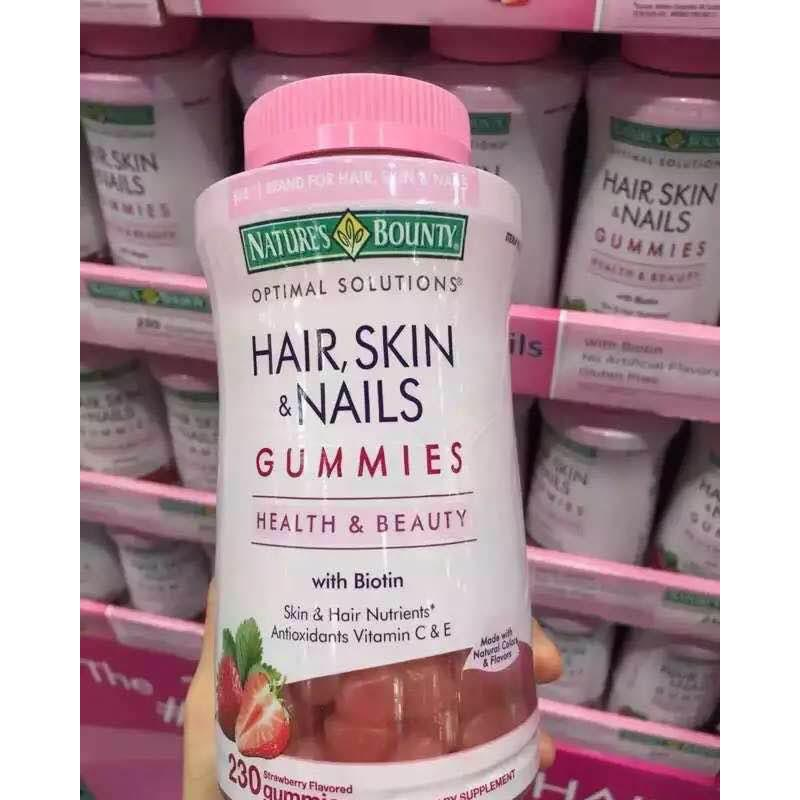 Hair Skin And Nails Collagen 230 Pcs In 2019 Hair Gummies