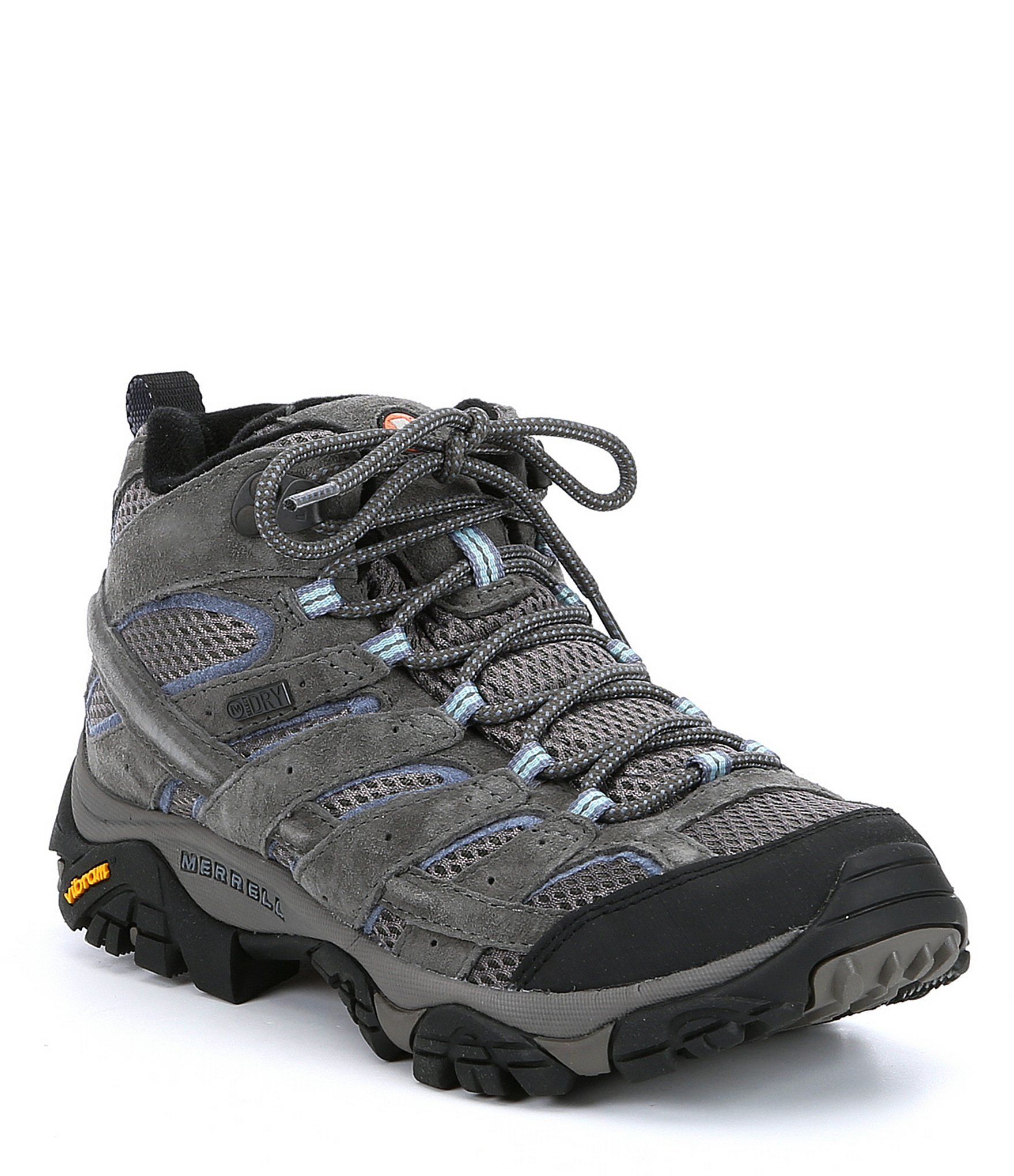 Mid Waterproof Leather Hiking Shoes