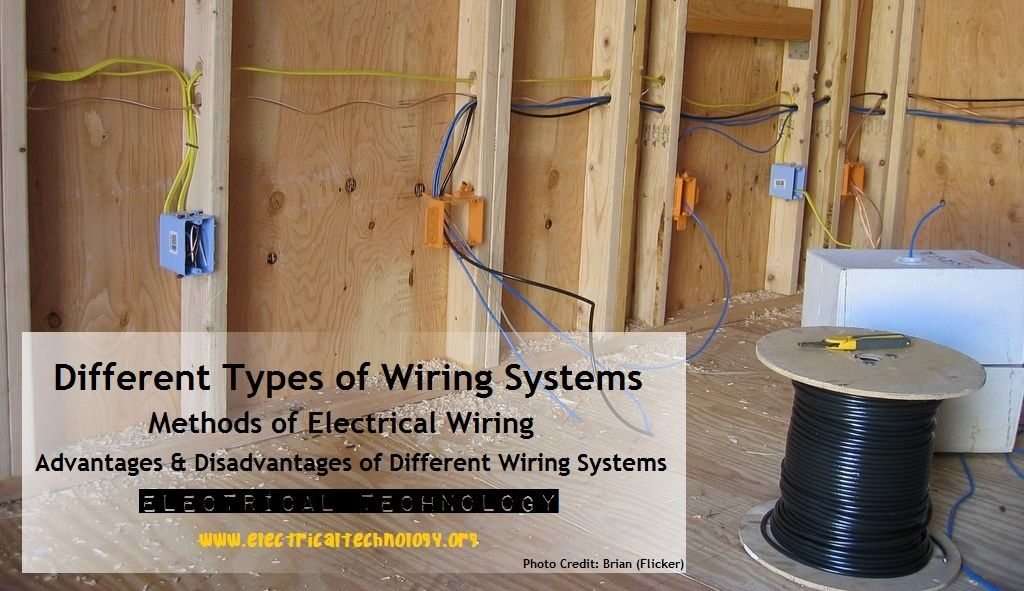 Diffe Types Of Wiring Systemethods Electrical