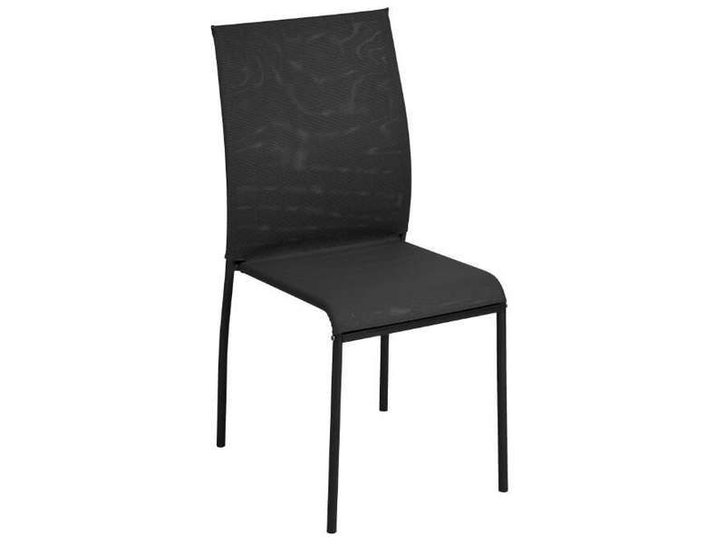Chaise KITE 2 coloris noir - pas cher ? Cu0027est sur Conforamafr