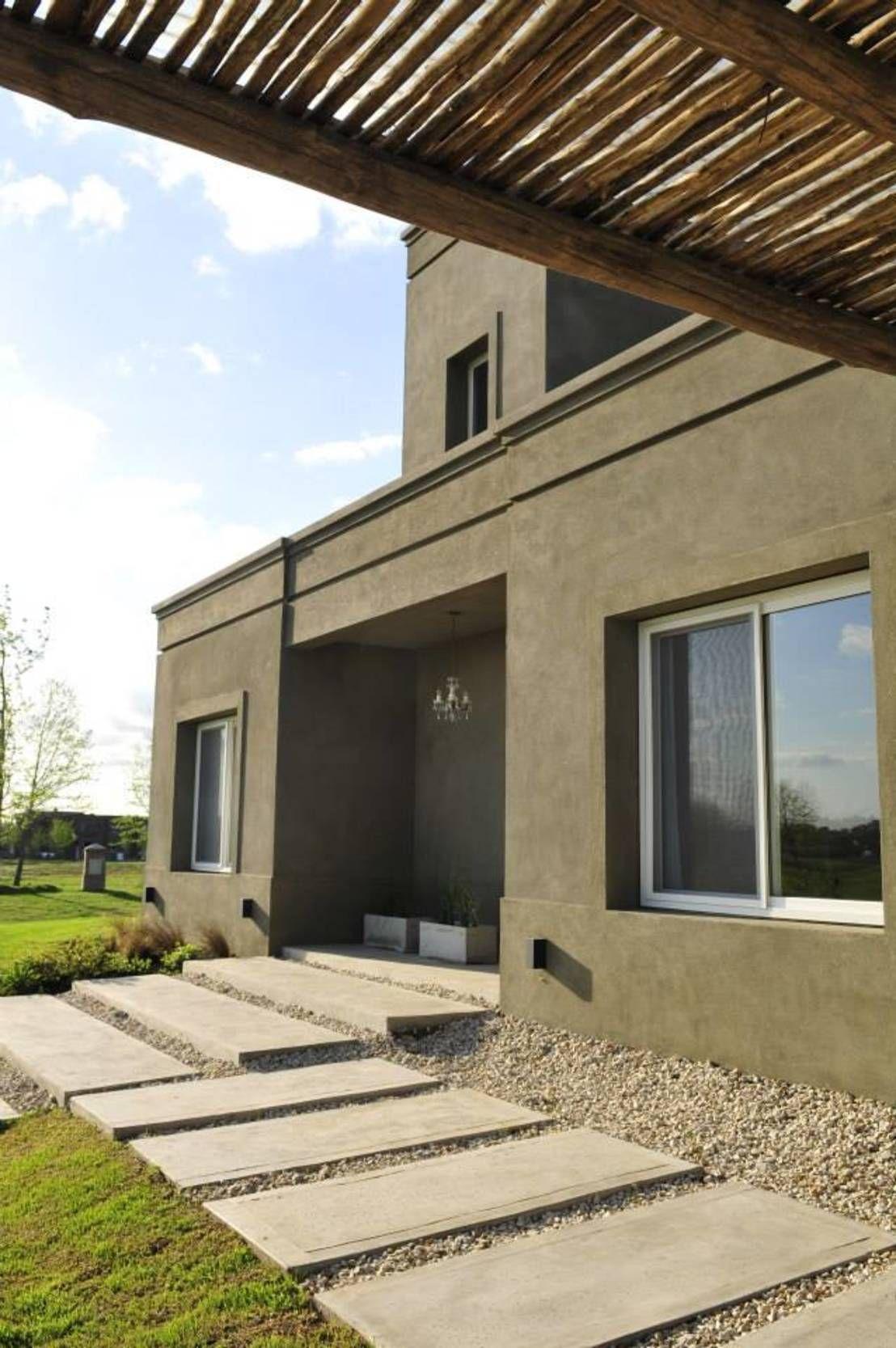 En gris y con pizcas de blanco una casa con estilo - Arquitectos casas modernas ...