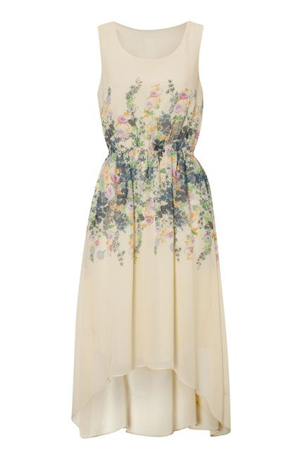 floral waterfall dress weddings clothes and wedding