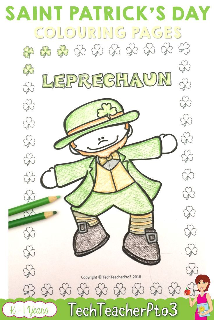 St Patrick\'s Day Coloring Activities | Seasonal celebration ...