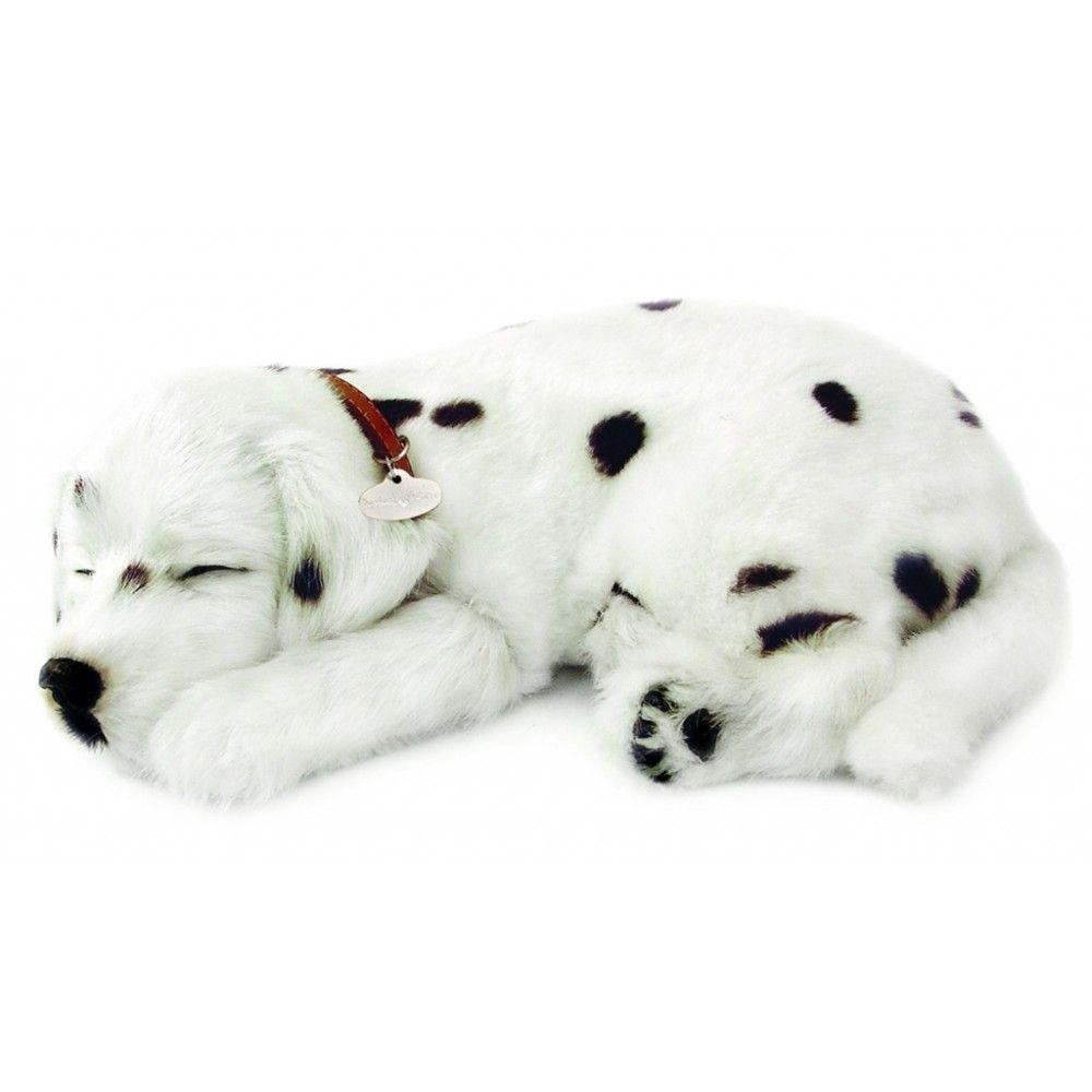 Perfect Petzzz The Original Breathing Huggable Pet Dalmatian Sleeping Puppies Toy Puppies Cute Puppies