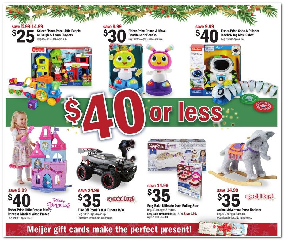 c476bf921cf27 Meijer Black Friday 2018 Ads and Deals Browse the Meijer Black Friday 2018  ad scan and the complete product by product sales listing. #meijer # blackfriday