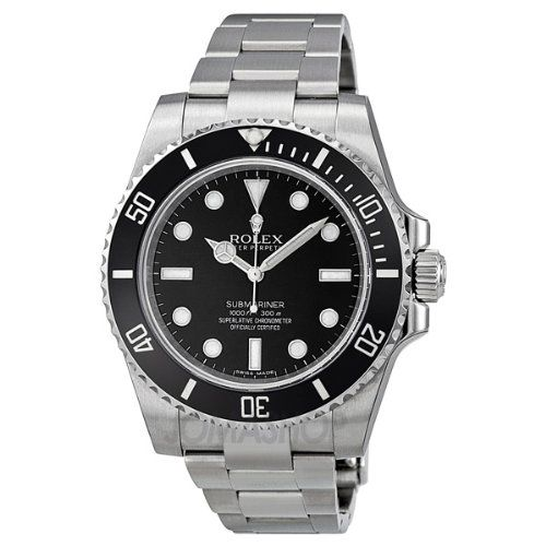 Rolex Submariner Black Dial Stainless Steel Automatic Mens Watch 114060 | WatchCorridor