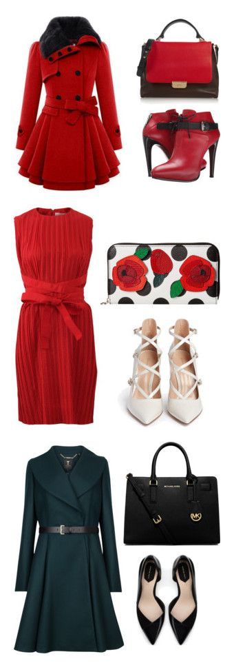 """3 is Perfect"" by fashionconnery on Polyvore featuring moda, COSTUME NATIONAL, Emilio Pucci, Gianvito Rossi, Dolce&Gabbana, Victoria, Victoria Beckham, Ted Baker, Zara, MICHAEL Michael Kors e polyvorecommunity"