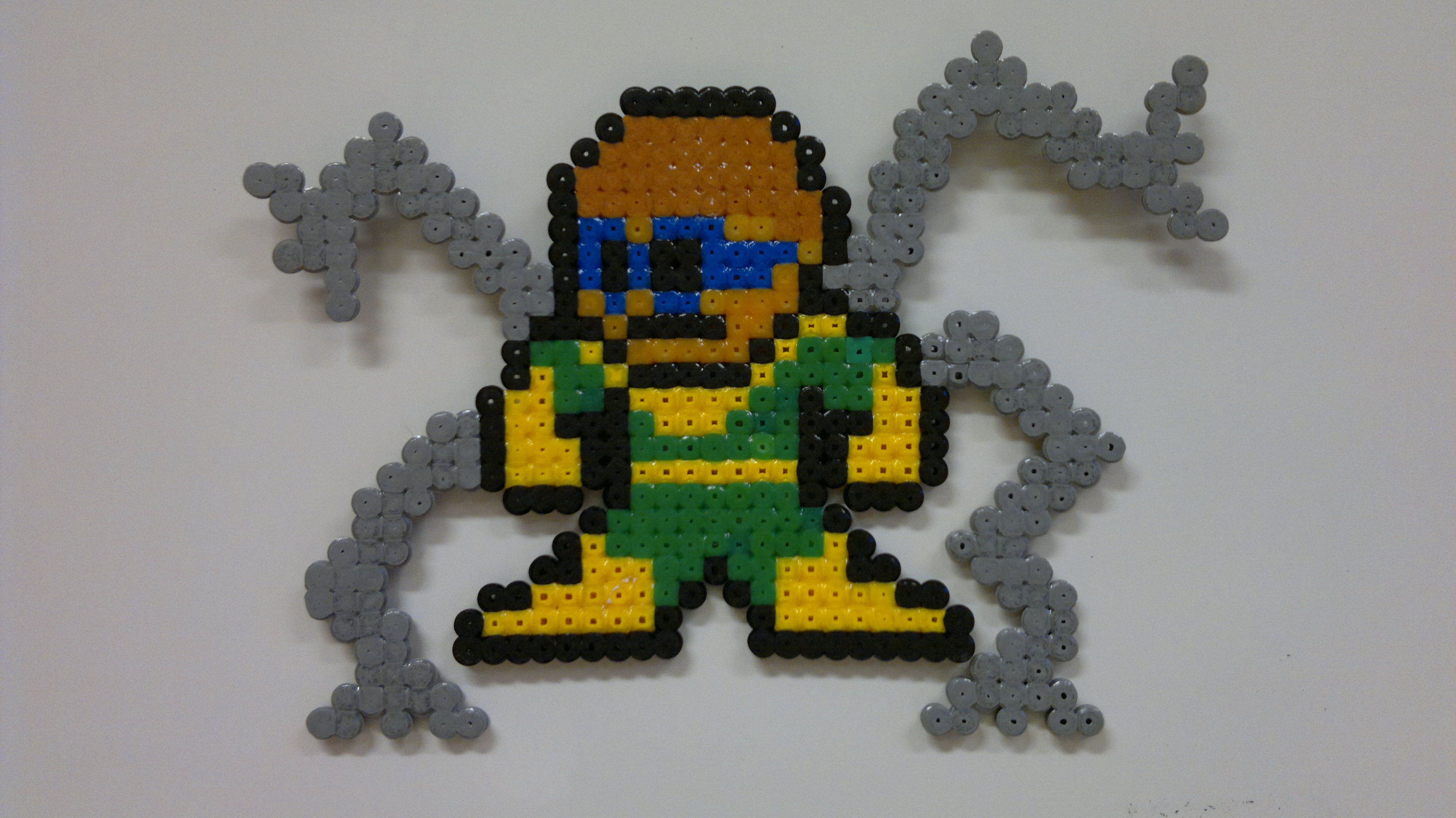 Hama Beads Spiderman: Spider Man - Doctor Octopus