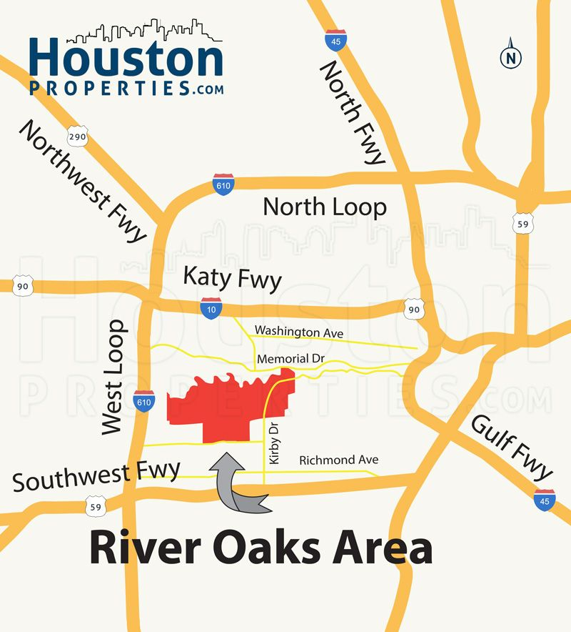 Remarkable River Oaks Houston Map Great Maps Of Houston In 2019