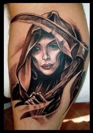 Female Grim Reaper Tattoos : female, reaper, tattoos, This!!!!, Female, Reaper, Tattoo,