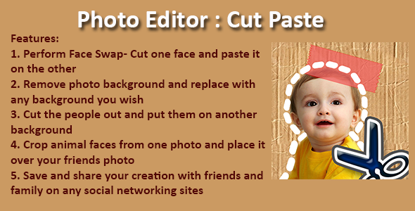 free cut and paste photo editing software