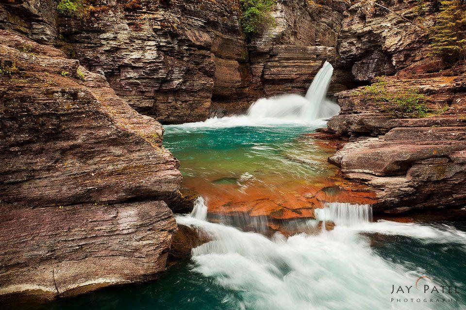 NATIONAL PARKS :: parks-glacier-natl-st-mary-falls-mt.jpg