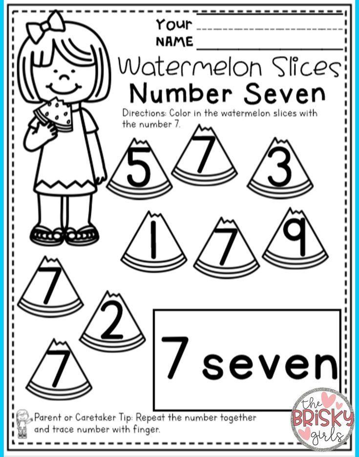 Preschool Summer Packet (PreK Summer Packet) (Preschool