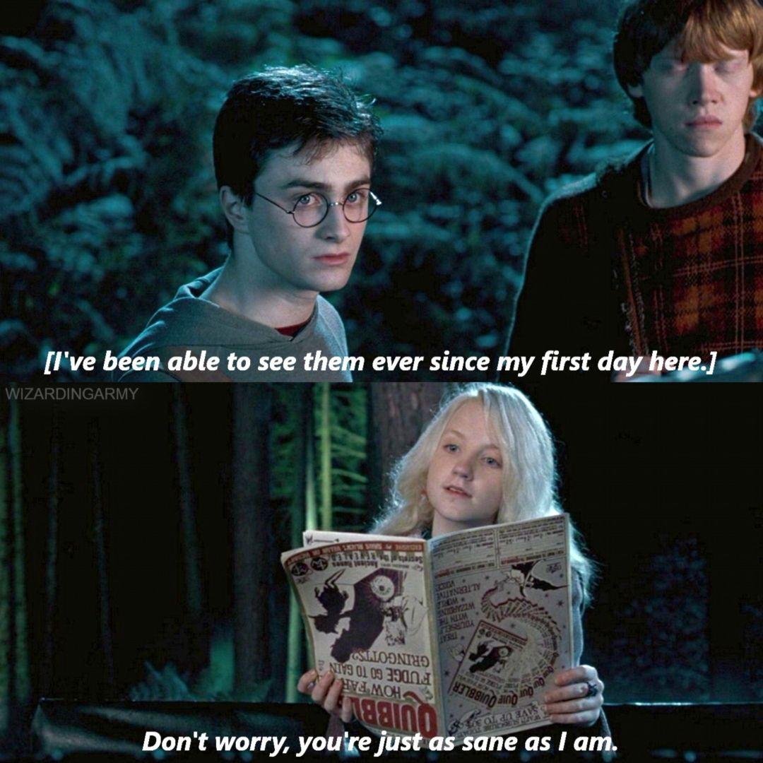 Very Comforting Luna Harry Potter Love Harry Potter World Magical World Of Harry Potter